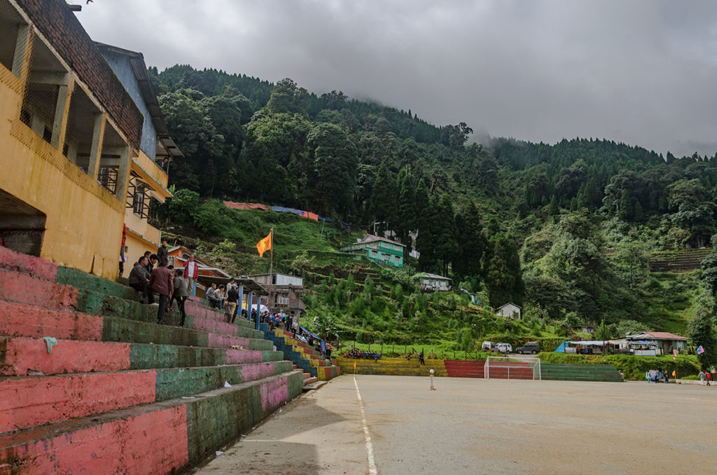 Manebhanjan Football Stadium