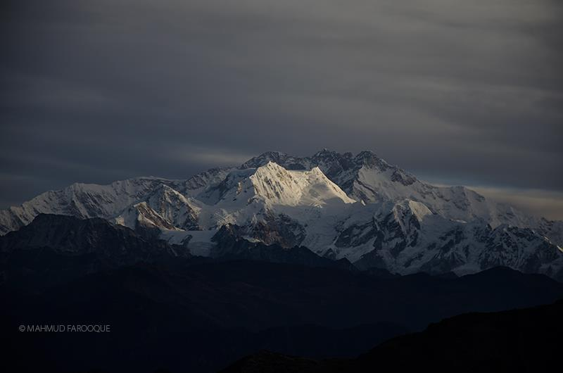Mt. Kanchenjhunga view from Phalut